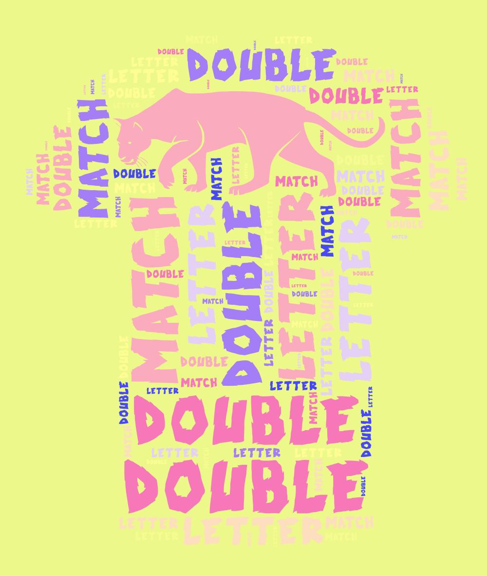 Double Letter Match