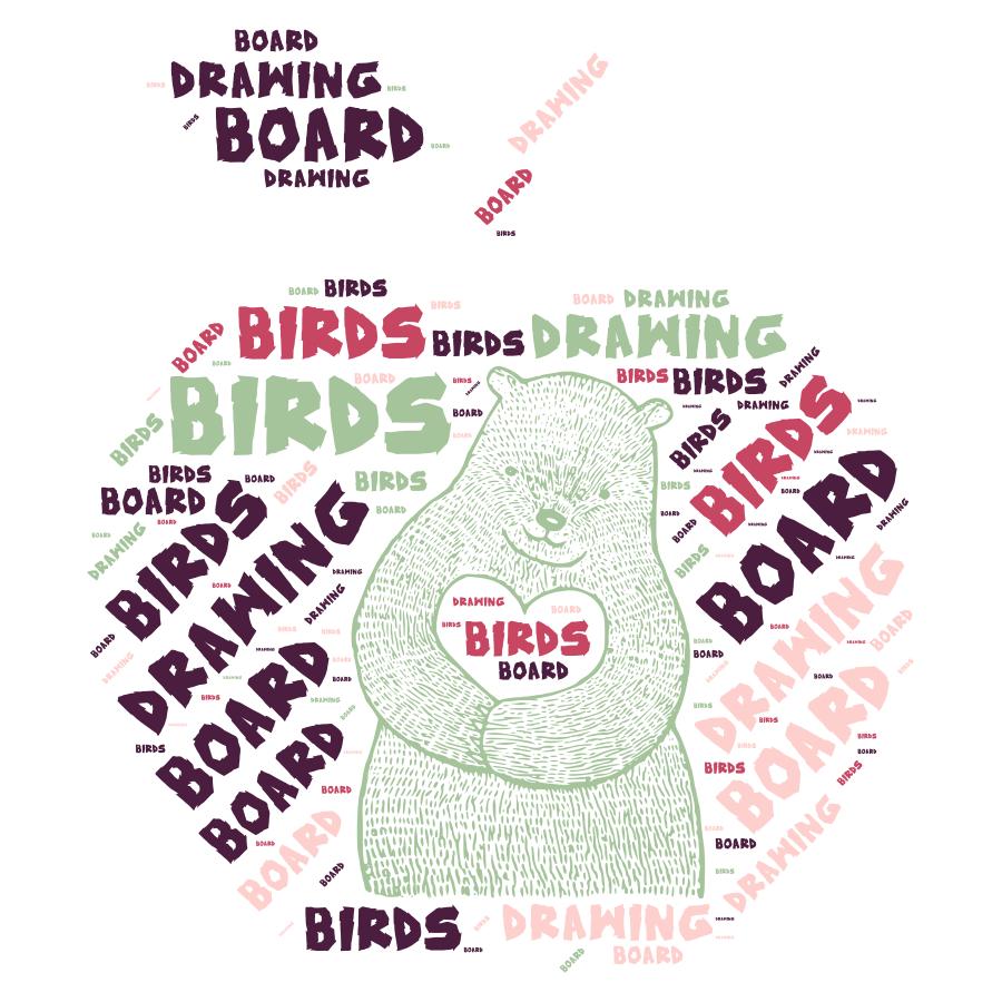 Birds Drawing Board
