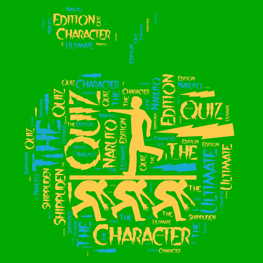 Character Quiz - The Ultimate Naruto Shippuden Edition