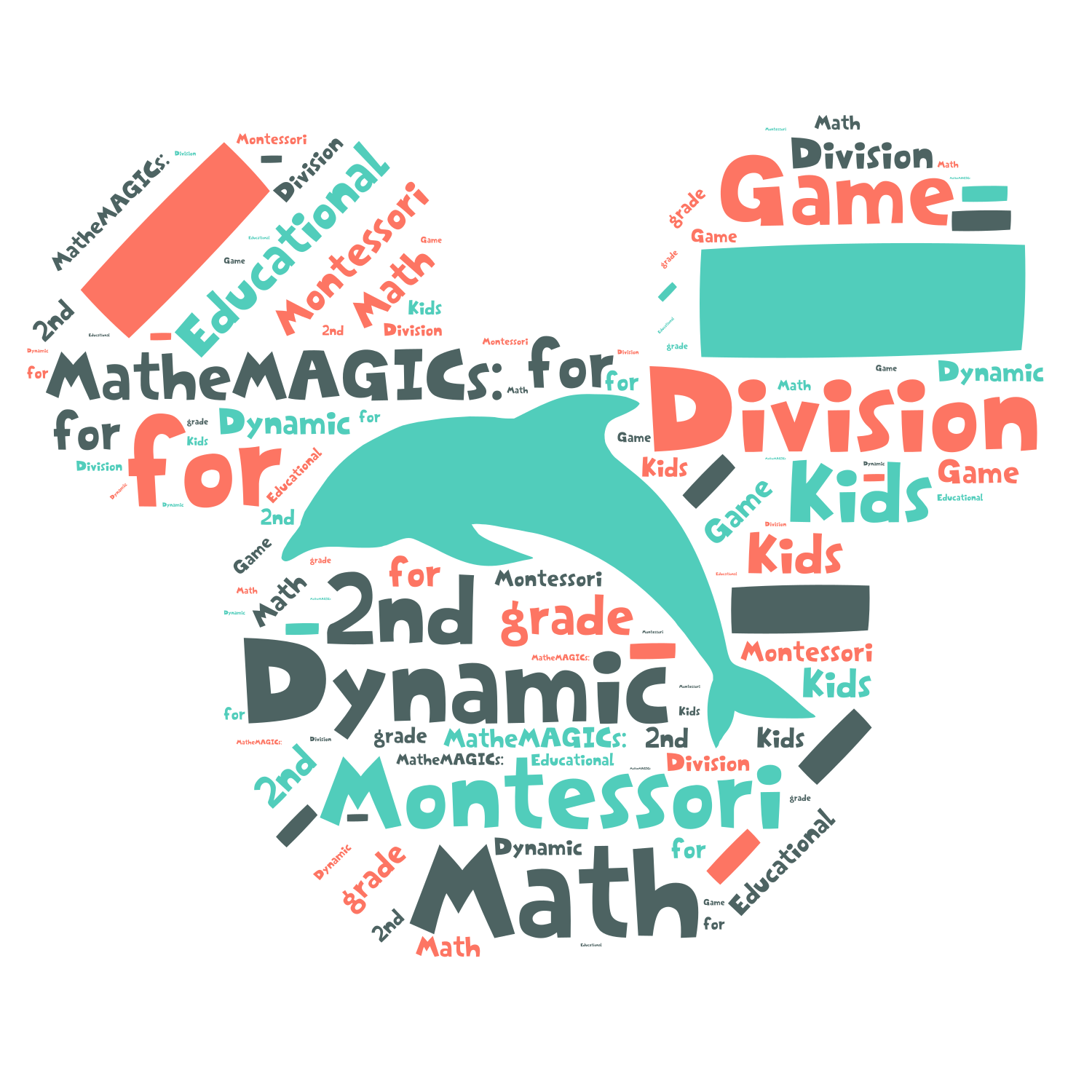 Montessori MatheMAGICs: Dynamic Division - Educational Math Game for Kids - 2nd grade