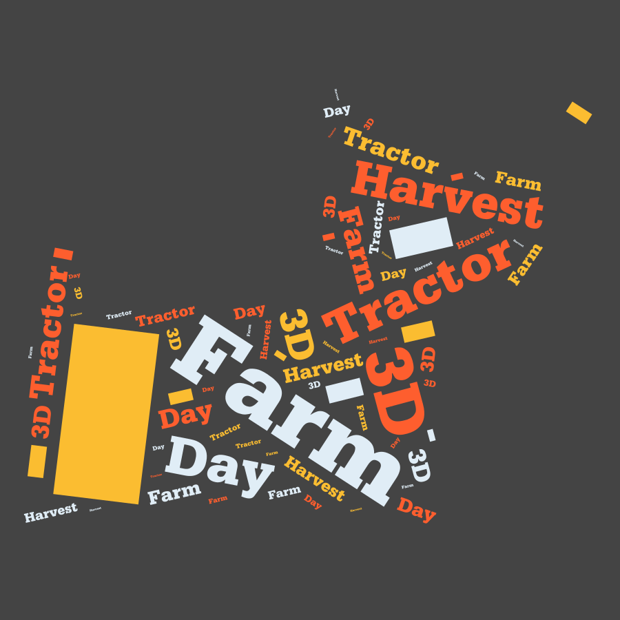 Farm Tractor - Harvest Day 3D