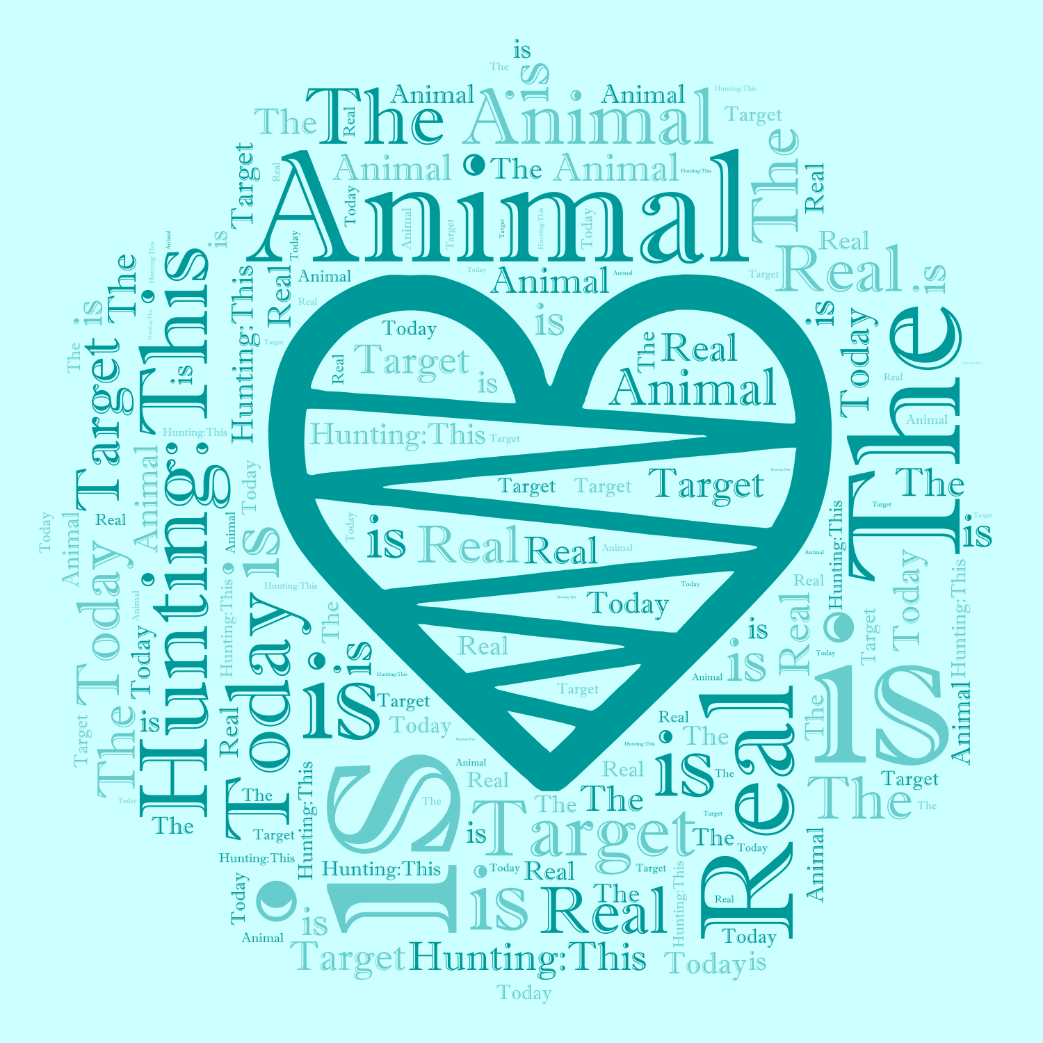 Animal Hunting:This is The Real Target Today