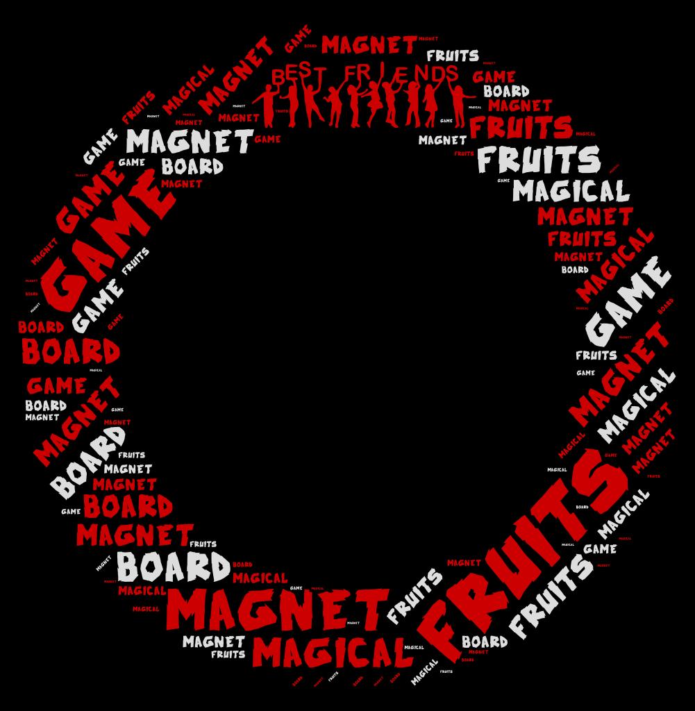 Fruits Magnet Magical Magnet Board Game