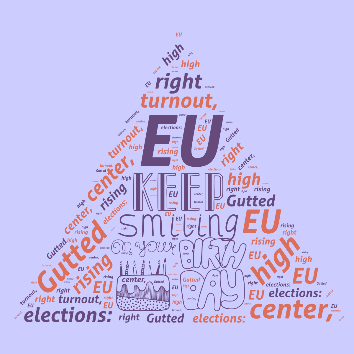 EU elections: Gutted center, high turnout, rising right