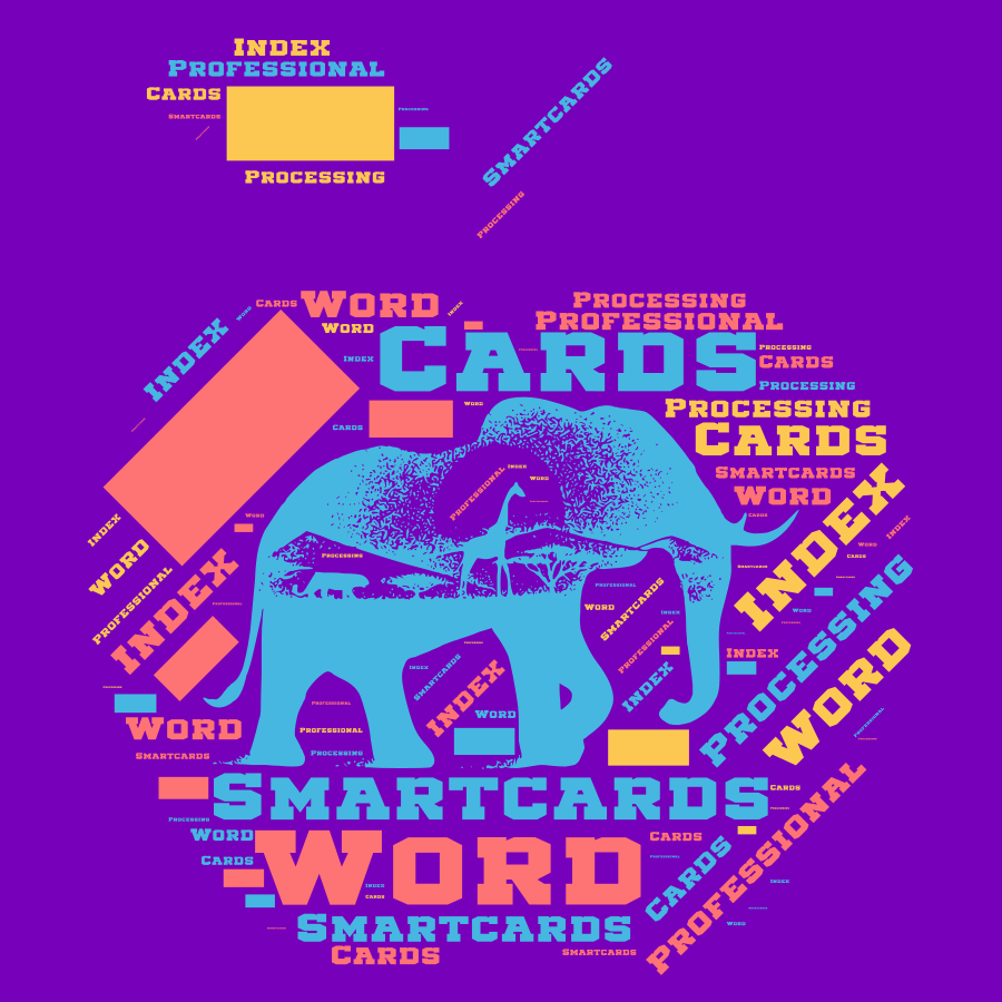 Smartcards - Professional Word Processing Index Cards