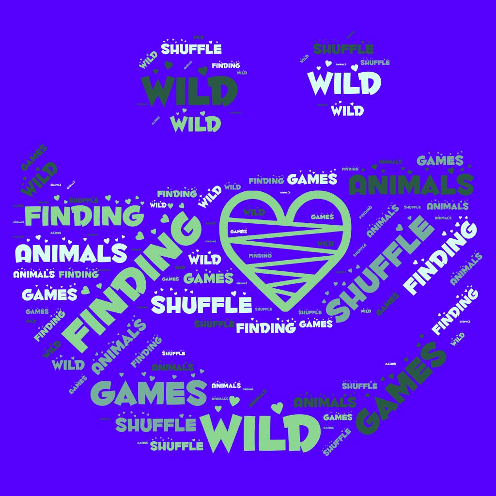 Finding Wild Animals Shuffle Games