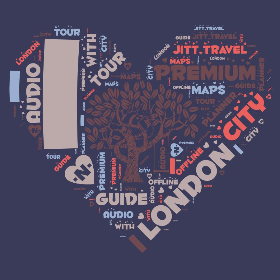 London Premium | JiTT.travel Audio City Guide & Tour Planner with Offline Maps
